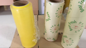 45cm x 300meters PVC film Reel food Cling film