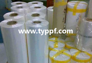 Polyolefin shrink film for packing machines