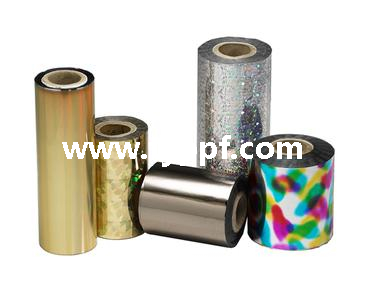 Golden Metallized PVC film