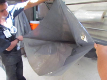 Polyethylene Debris bags for construction